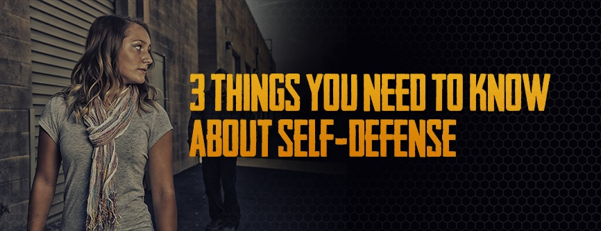 Armscor Blog: 3 Things You Need To Know About Self Defense