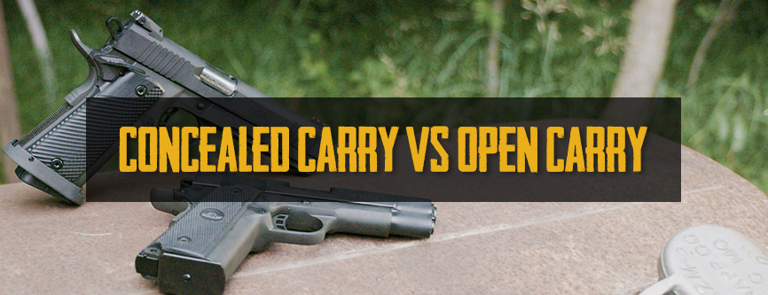 Armscor Blog Concealed vs Open Carry